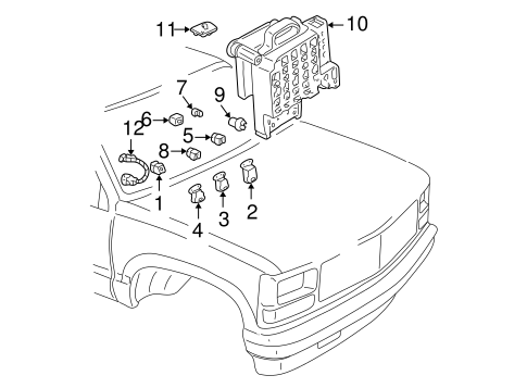 Lane Departure Warning Scat additionally Electrical  ponents Scat as well Rear Suspension Scat besides Low Profile Electrical Box moreover 450slc Wiring Diagram. on electrical outlet trim