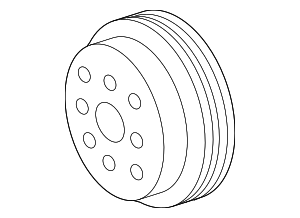 Pulley - Toyota (16173-0P010)