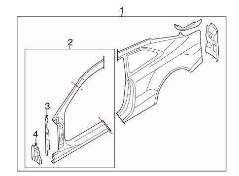 Aperture Panel For 2015 Audi S5