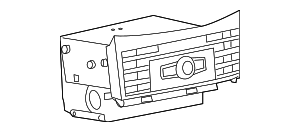 Radio - Mercedes-Benz (212-900-87-26)