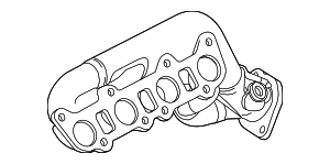 Exhaust Manifold - Ford (BR3Z-9430-A)