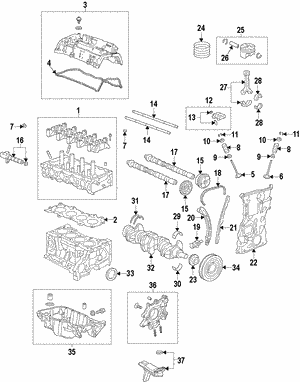 Cover Assembly, Cylinder Head