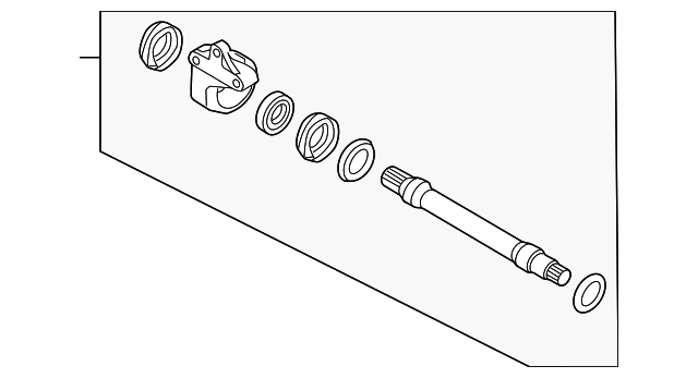 Mazda FD80-22-620 CV Joint
