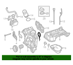 Rear Main Seal Retainer - Mercedes-Benz (276-010-00-07)