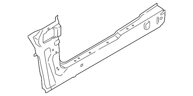 2014 2018 Ford Transit Connect Side Rail Dv6z 6110110 G