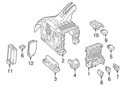 02 Volkswagen Golf Fuse Diagram