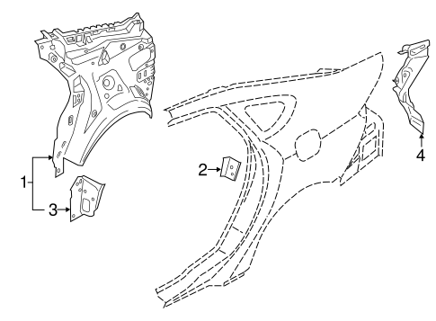 Inner Structure For 2014 Ford Fusion