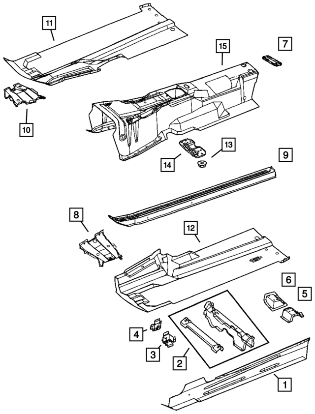 Chrysler Pacifica Transmission Shifter Diagram