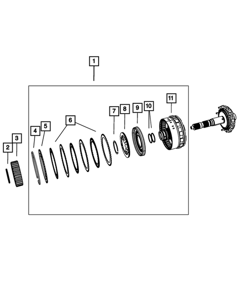 Gear Train for 2013 Chrysler Town & Country #5