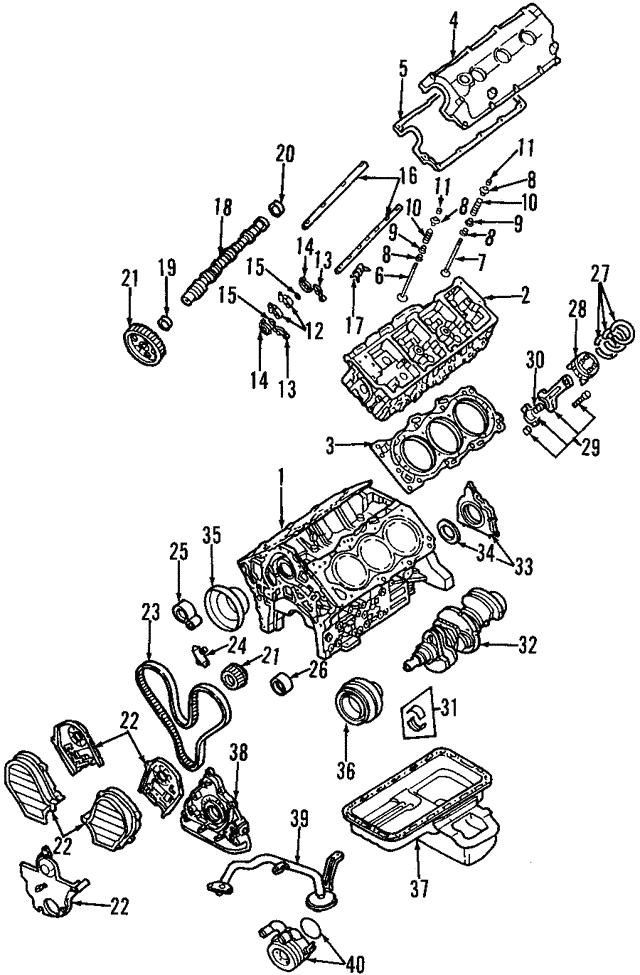 1996 1997 Acura Slx Sedan Gasket Cylinder Head Cover 8 97139 569 0