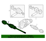 Axle Assembly - BMW (31-60-7-618-680)