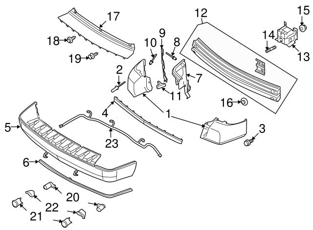 2008 Ford Taurus X Wire Harness 8a4z 15k868 Aa