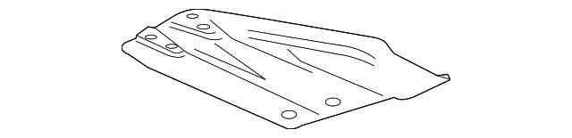 GM OEM Frame-Skid Plate 20922755