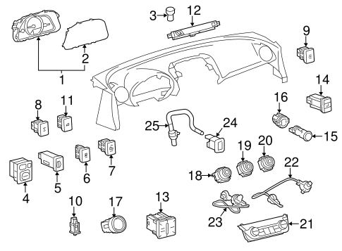 HVAC/CONTROLS for 2015 Toyota RAV4 #1