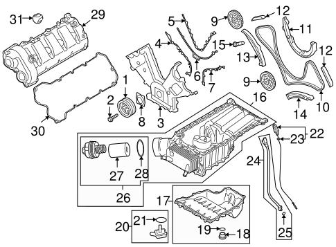 Engine Parts For 2008 Porsche Cayenne