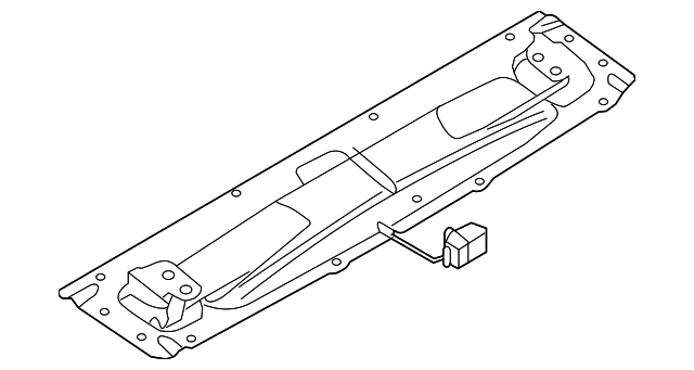 2008 2015 Audi R8 Bracket 420 827 948 B