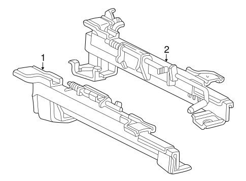 Tracks Components For 2000 Ford Mustang