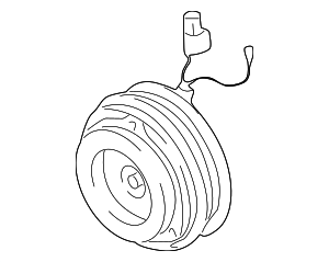 Clutch & Pulley - Kia (1K52Y-61P02)