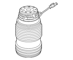 Air Spring - Mercedes-Benz (213-328-01-00)