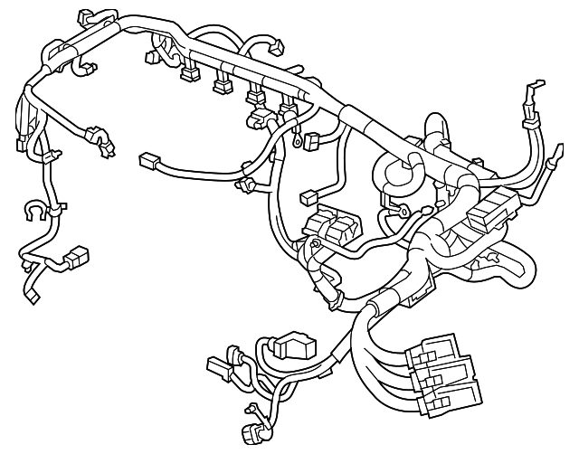 Cadillac Engine Harness