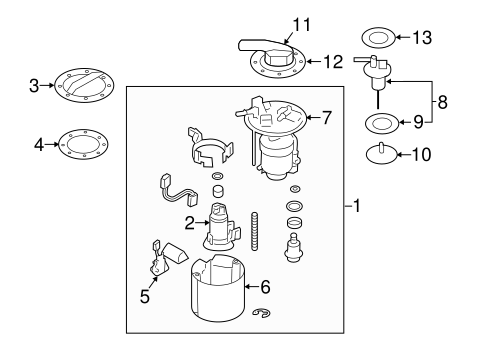 fuel system components for 2014 subaru forester #0