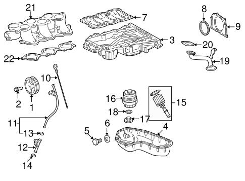 [DIAGRAM_09CH]  Genuine OEM Engine Parts Parts for 2007 Toyota RAV4 Sport - Olathe Toyota  Parts Center | 2007 Rav4 Engine Diagram |  | Olathe Toyota Parts Center