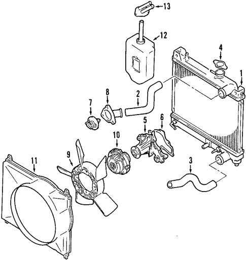 2002 Suzuki Xl7 Engine Parts Diagram
