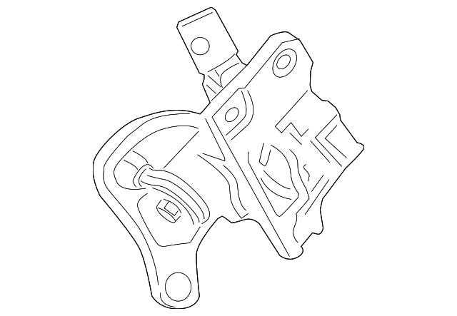 2013 2016 Ford Gearshift Housing Cc3z 7210 Y