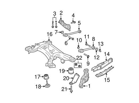 Rear Suspension For 2014 Dodge Avenger