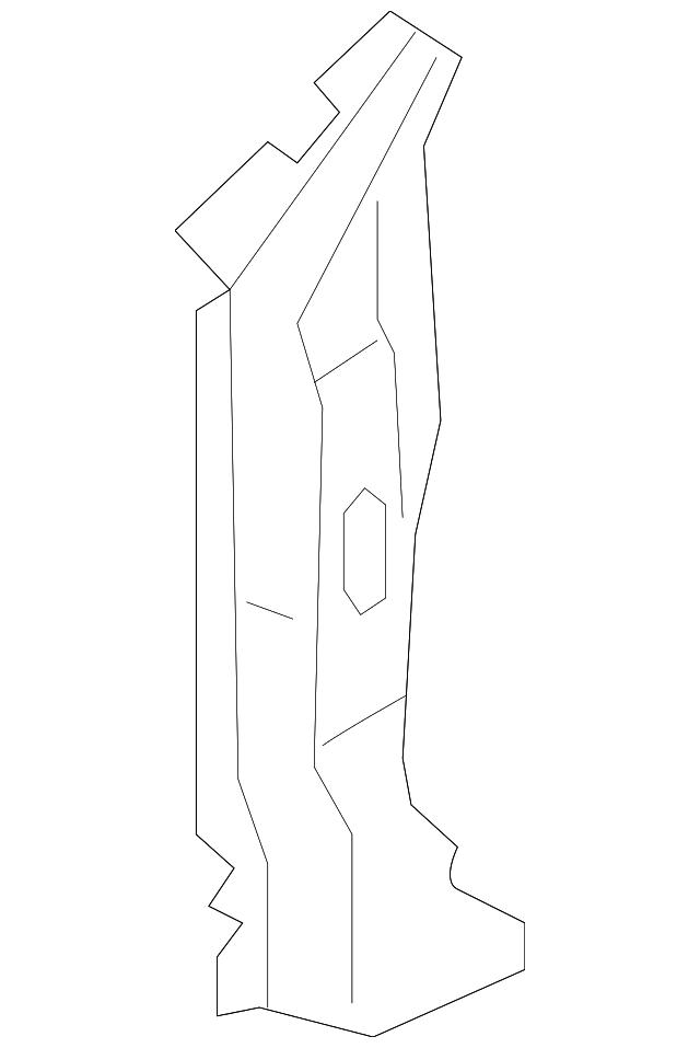 stiffener  r front pillar  lower