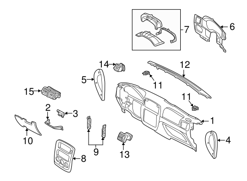 Scion Tc Parts Catalog in addition Ford Vent Grille 1l2z19893aa further Quirk Parts 2011 Ford Mustang likewise P 0900c1528004e503 likewise Head Gasket Kit 260 289 302. on 05 mustang grille