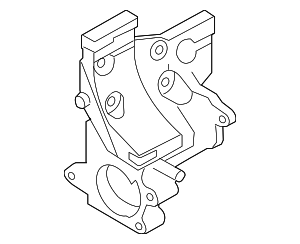 Thermostat Housing - Nissan (11061-ZJ61A)