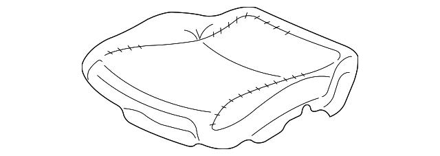 Honda Genuine 81534-S9V-A62 Seat Cushion Heater