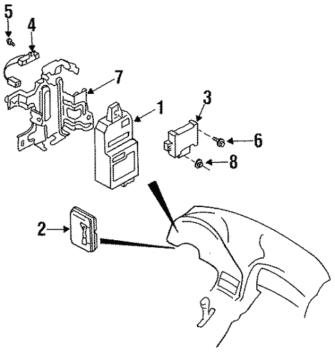 electrical/electrical components for 1993 mazda rx-7