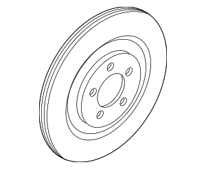 Disc Brake Rotor - Ford (L1MZ-2C026-B)