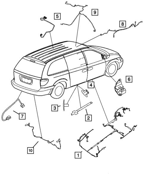 Wiring Body Accessories For 2007 Dodge Caravan