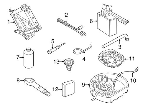 Jack Components For 2014 Volkswagen Beetle