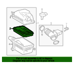 Air Filter - Toyota (17801-0P100)