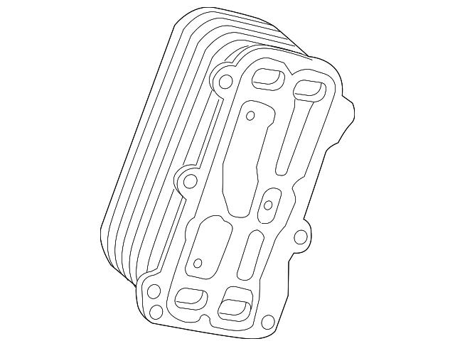 2015 2018 Mercedes Benz Oil Cooler 133 188 00 01