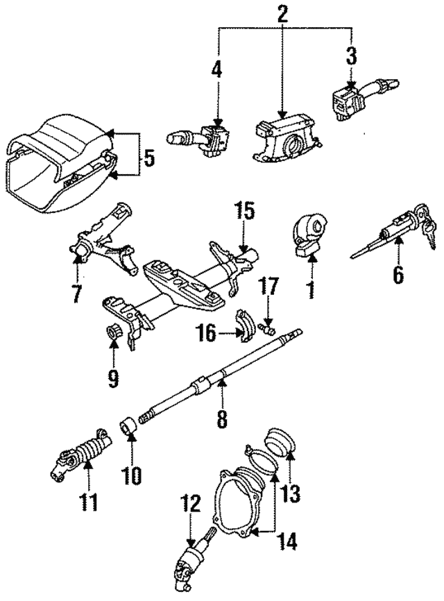 1994 1999 Toyota Celica Main Shaft 45210 20321