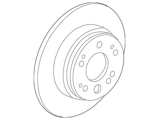 2003 2011 Honda Element 5 Door Disk Rear Brake Drum In 42510 Scv