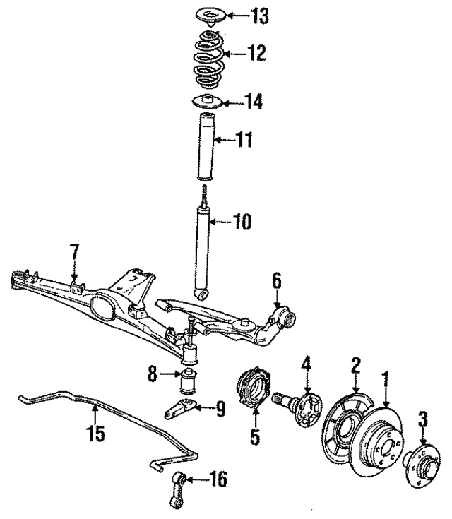 Shock Absorber - BMW (33-52-1-132-123)