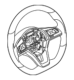 Steering Wheel - Nissan (48430-5SA1B)
