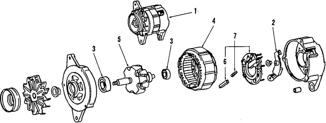 Alternator - Toyota (27060-42030-84)
