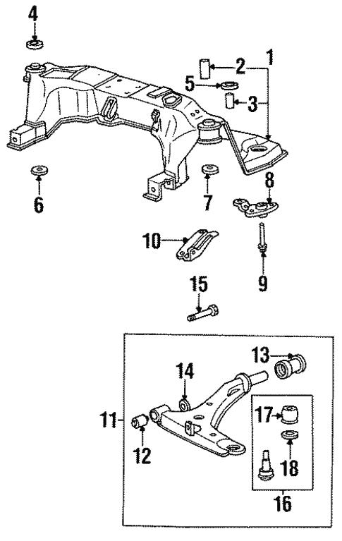 Hyundai 54813-34000 Suspension Stabilizer Bar Bushing