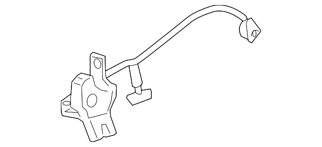 Genuine Ford 7W7Z-5443200-A Trunk Lock Assembly