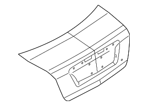 Trunk Lid - Ford (9E5Z-5440110-B)
