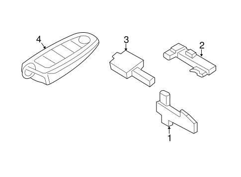 Electrical/Keyless Entry Components for 2013 Ford Escape #2