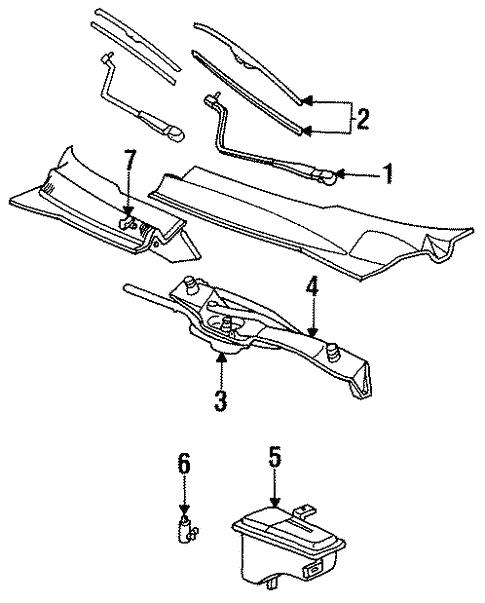1997 Ford Thunderbird Parts Diagram