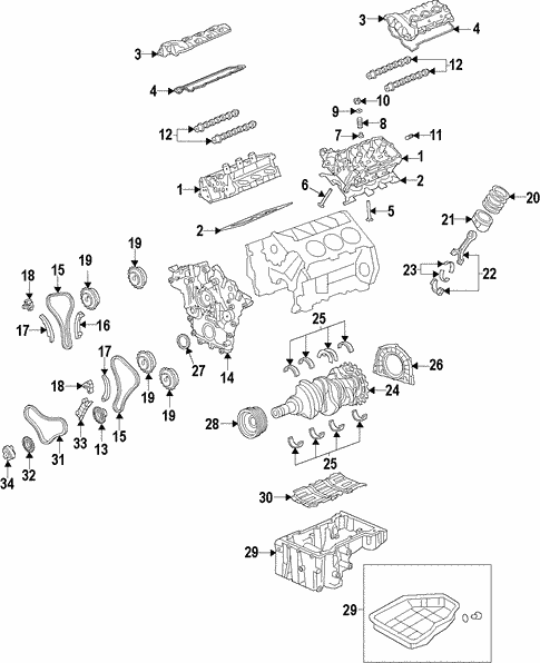 Engine for 2011 Kia Sorento #3